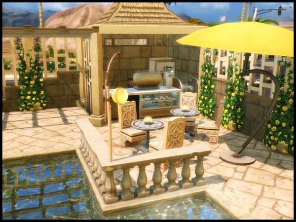 The Sims Resource: Oasis Springs Private Pool by Terramoon