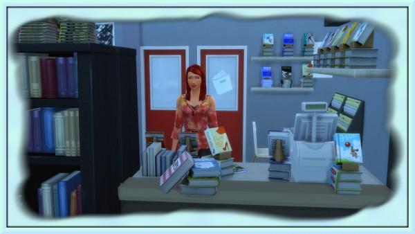 Bree`s Sims Stuff: Mobile BookStore