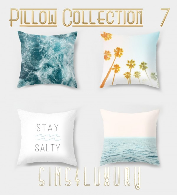 Sims4Luxury: Pillow Collection 7