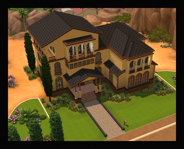 Mod The Sims: Super Shingles Roof Design by Simmiller
