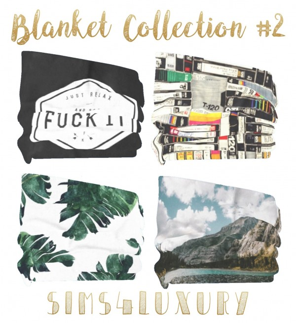 Sims4Luxury: Blanket Collection 2