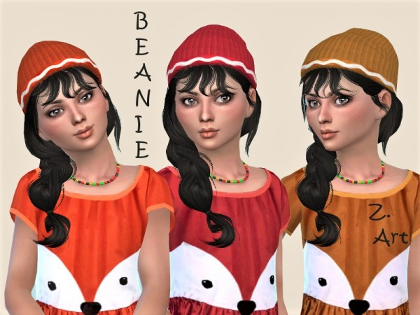 The Sims Resource: Funny dress and hat 11 by Zuckerschnute20
