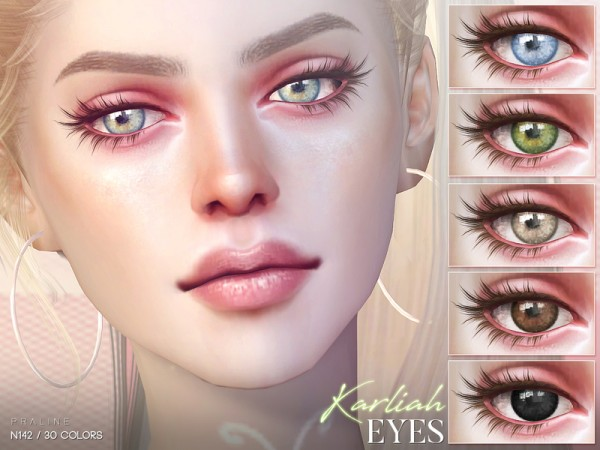 The Sims Resource: Karliah Eyes N142 by Pralinesims
