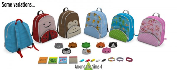 Around The Sims 4: Whats in my bag?