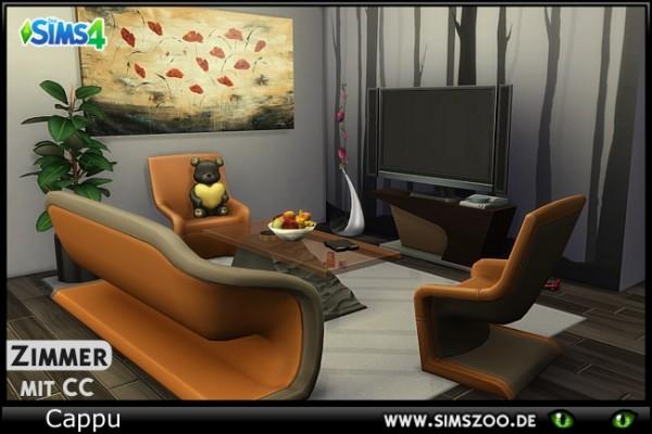 Blackys Sims 4 Zoo: Miranda livingroom by Cappu • Sims 4 Downloads