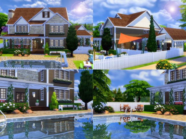 The Sims Resource Bradford House By Sharon337 Sims 4