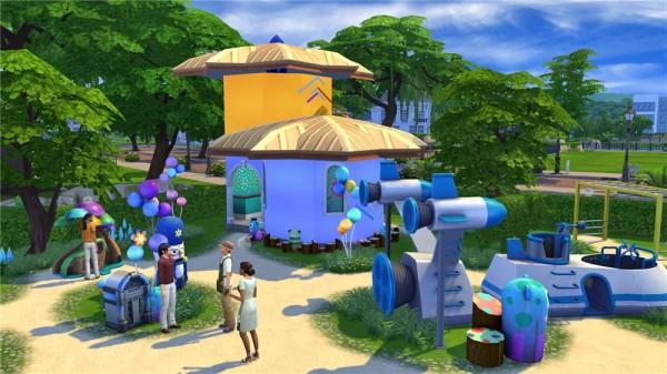 Ihelen Sims: Park Сheerful glade by fatalist