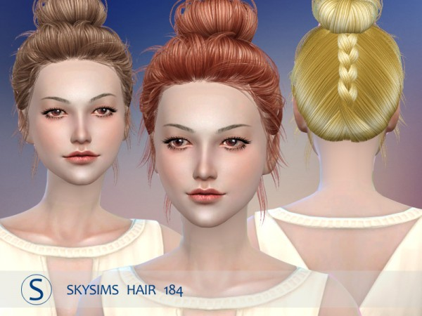 Butterflysims: Skysims 184 donation hairstyle