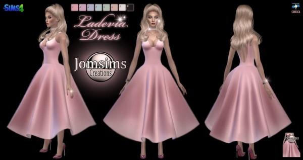 Jom Sims Creations: Ladevia dress