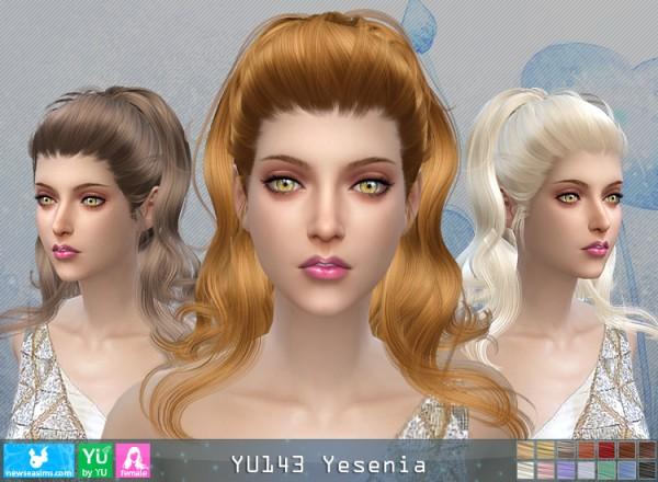 NewSea: YU143 Yesenia donation hairstyle