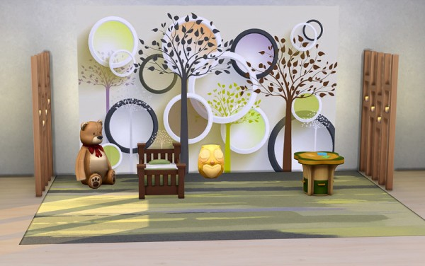 Ihelen Sims: Light and Volume Panel