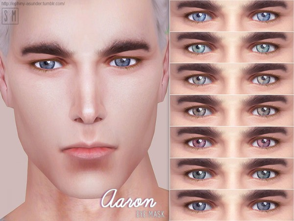 The Sims Resource: Aaron   Eye Mask by Screaming Mustard