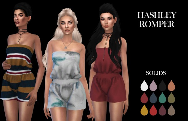 Leo 4 Sims: Hashley Romper recolor