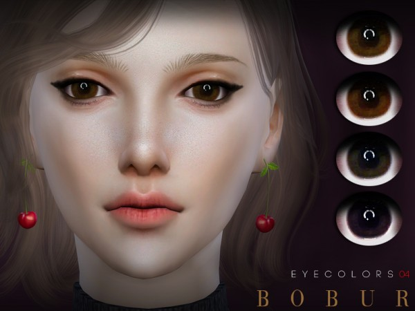 The Sims Resource: Eyecolors 04 by Bobur