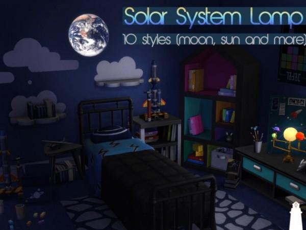 Akisima Sims Blog: Solar system lamp