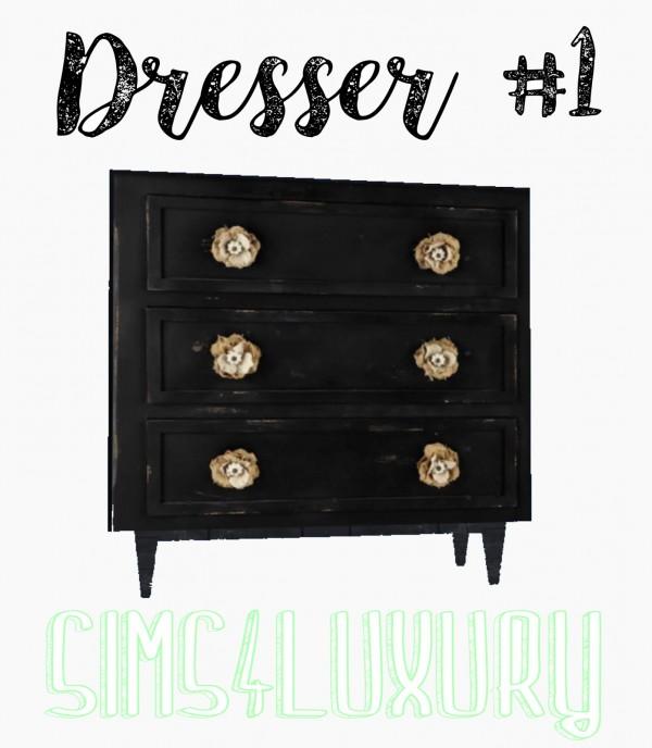 Sims4Luxury: Dresser 1