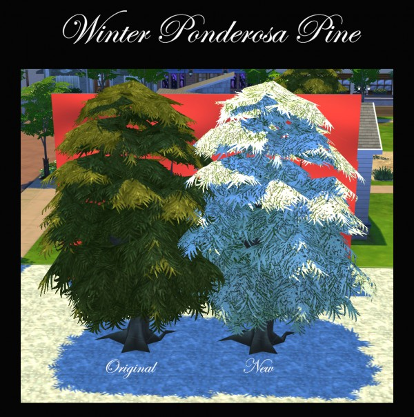 Mod The Sims: Winter Garden Items by Simmiller