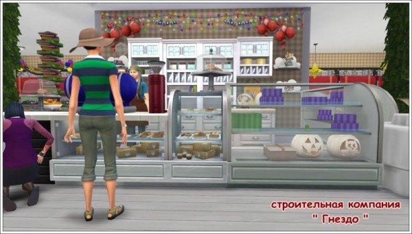 Sims 3 by Mulena: Childrens cafe Nathan