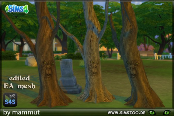 Blackys Sims 4 Zoo: Staring Tree by mammut