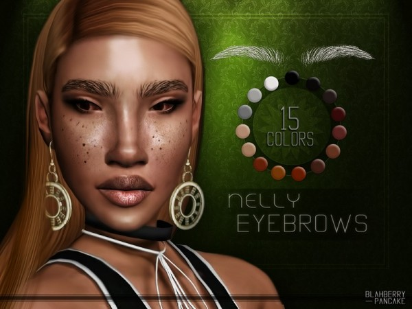 The Sims Resource: Nelly Eyebrows by Blahberry Pancake