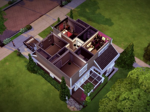 The Sims Resource: Melcave   NO CC! by melcastro91