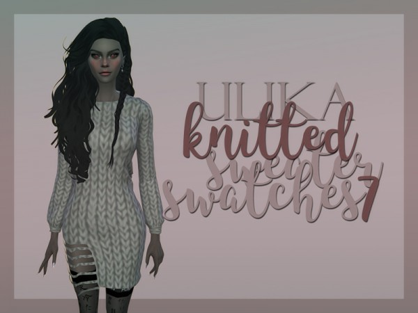 The Sims Resource: Knitted sweater by UliKa