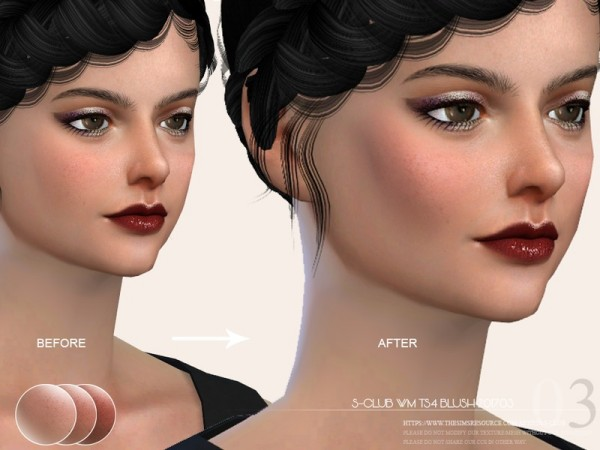 The Sims Resource: Blush 201703 by S Club