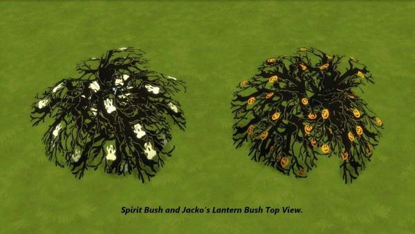 Mod The Sims: Spooky Bushes by Snowhaze