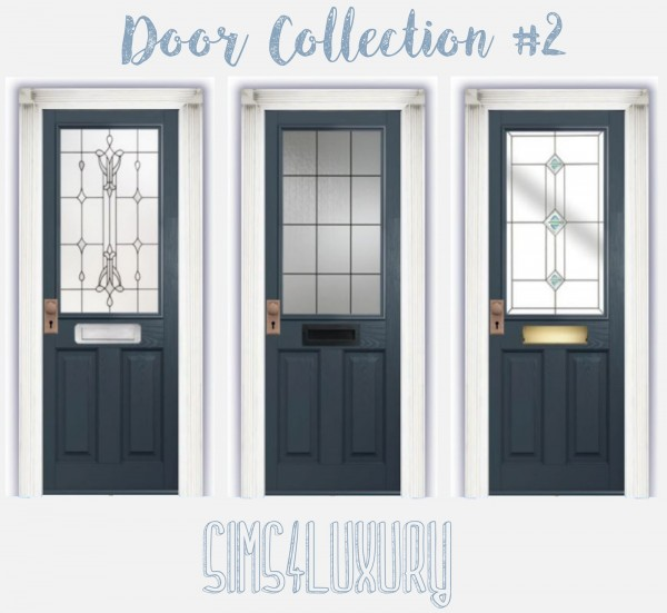 Sims4Luxury: Door Collection 2