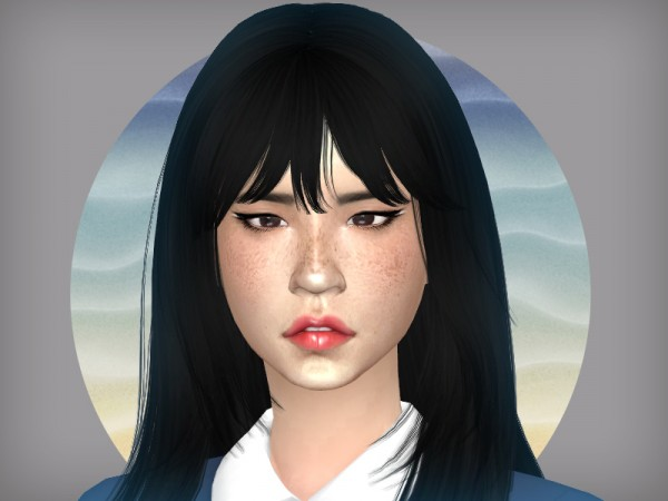 The Sims Resource: Desert Rose   face overlay by WistfulCastle