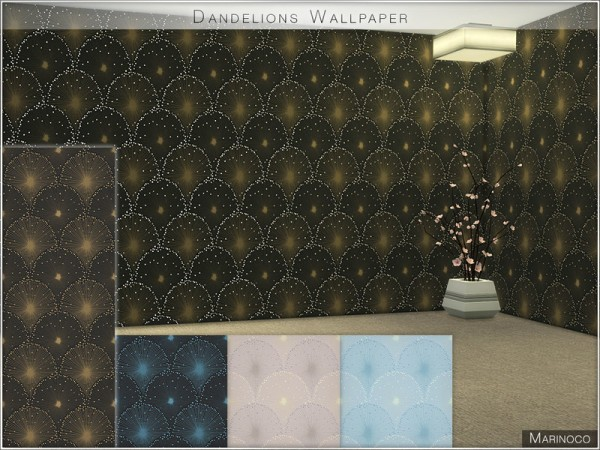 The Sims Resource: Dandelions Wallpaper by Marinoco