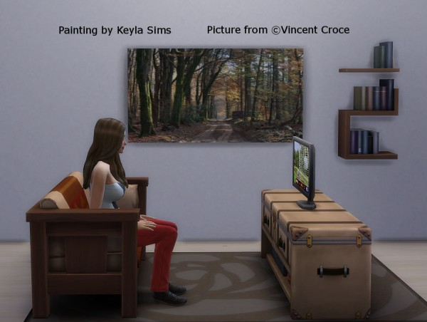 Keyla Sims: Paintings Vincent