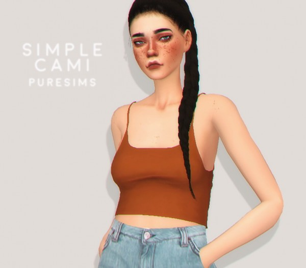 Pure Sims: Simple cami