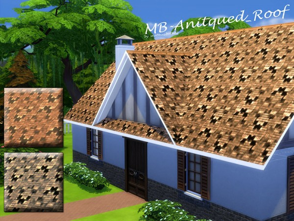The Sims Resource: Antiqued Roof by matomibotaki