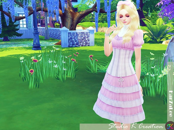 Studio K Creation: Layered Victorian dress
