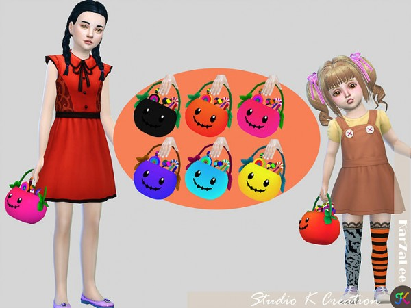 Studio K Creation: Pumpkin basket acc
