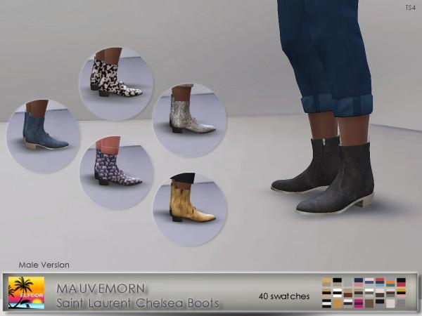 Elfdor: Chelsea Boots Recolor   Male version