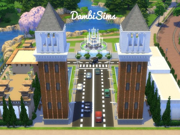 The Sims Resource: Barcelona: Montjuic by dambisims