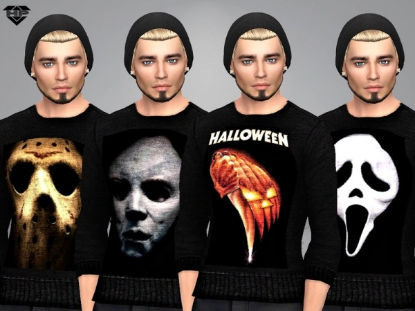 The Sims Resource: Famous Scary Movie T Shirts by Marty P