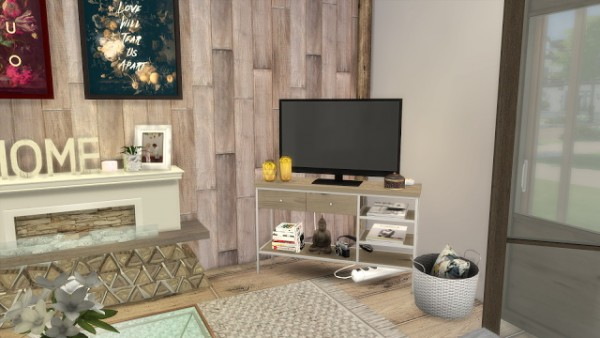 Dinha Gamer: Winter Livingroom
