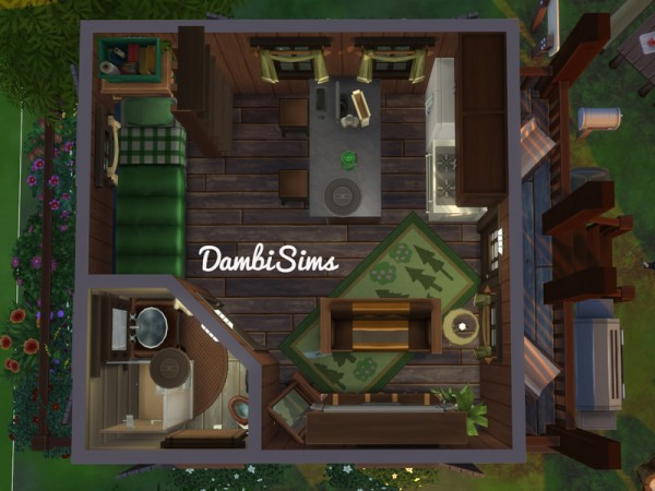 The Sims Resource: Bungalow Camping by dambisims