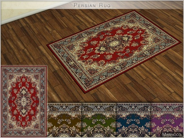 The Sims Resource: Persian Rug by Marinoco