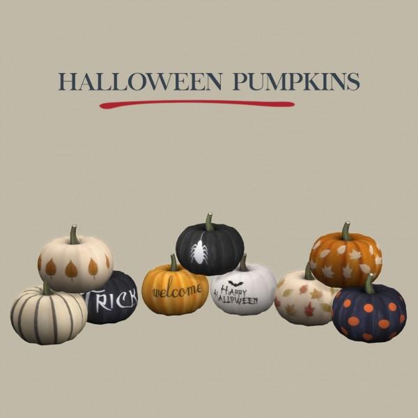 Leo 4 Sims Halloween Pumpkins Sims 4 Downloads