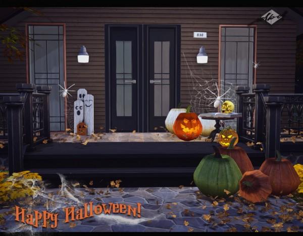 Sims 4 Designs: Ogularama Pumpkins and XNM Jackolanterns