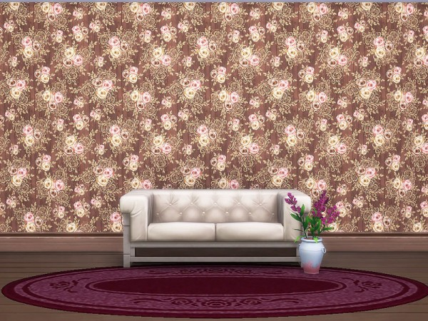 The Sims Resource: Autumn Rose Wallpaper 2 by sharon337