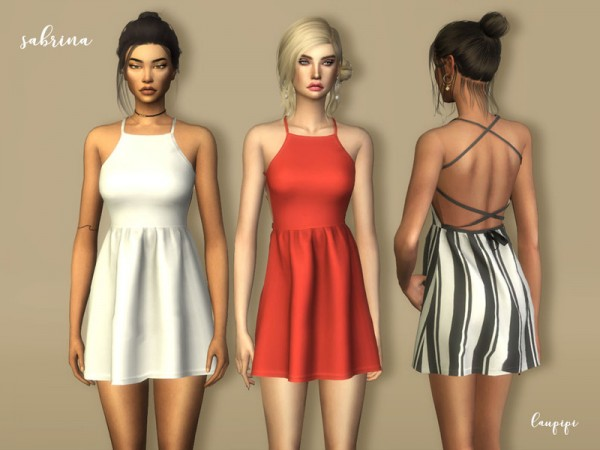 The Sims Resource: Sabrina dress by laupipi