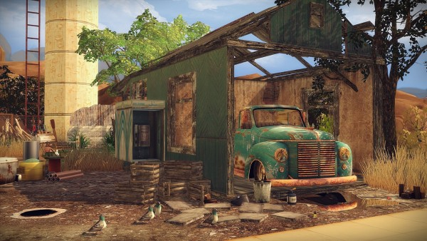 Frau Engel Post Apocalyptic Life House Sims 4 Downloads