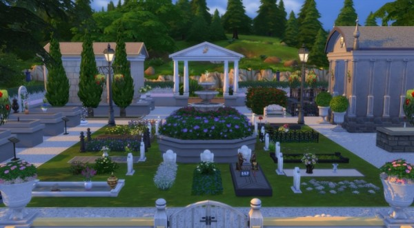 Sims Artists: Cemeterie of great rest