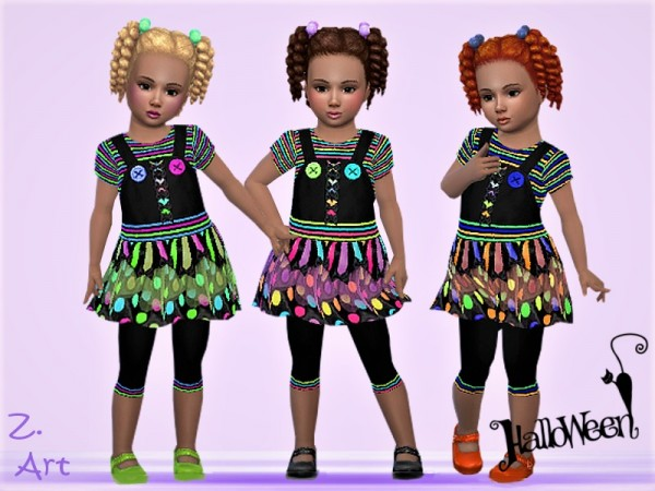 The Sims Resource: Halloween BabeZ. 03 by Zuckerschnute20