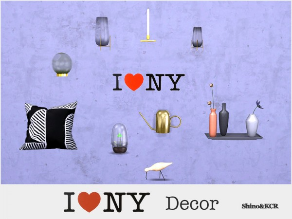 The Sims Resource: Decor New York by ShinoKCR
